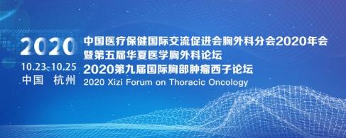 中国医疗保健国际交流促进会胸外科分会2020年会暨第五届华夏医学胸外科论坛