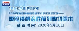 2020年泌尿腫瘤腹腔鏡手術學術交流系列——腹腔鏡根治性前列腺切除術